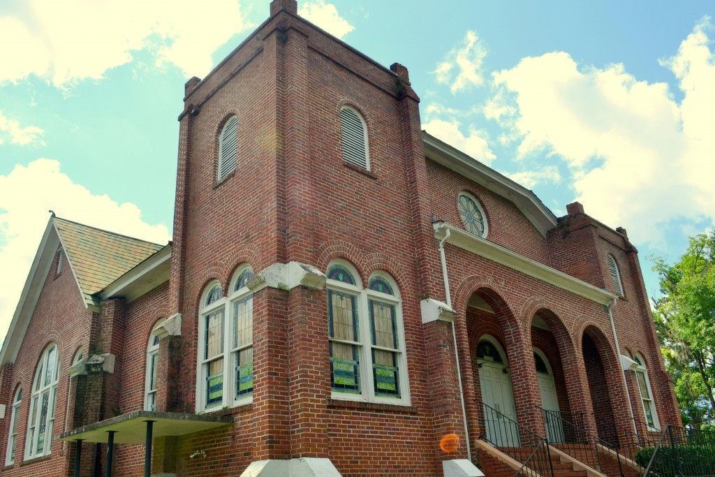 Image of the Arnett Chapel AME Church.