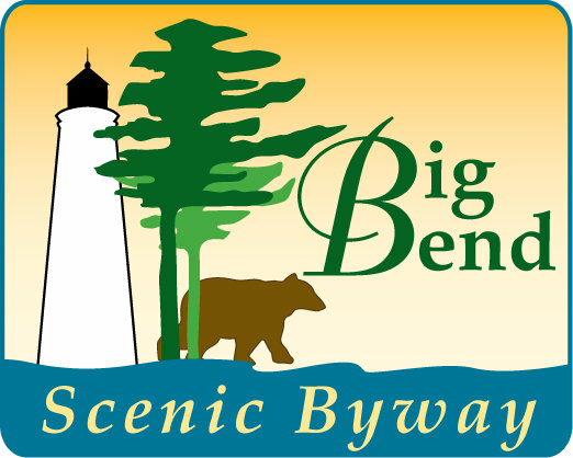 Image of the Big Bend Scenic Byway sign.