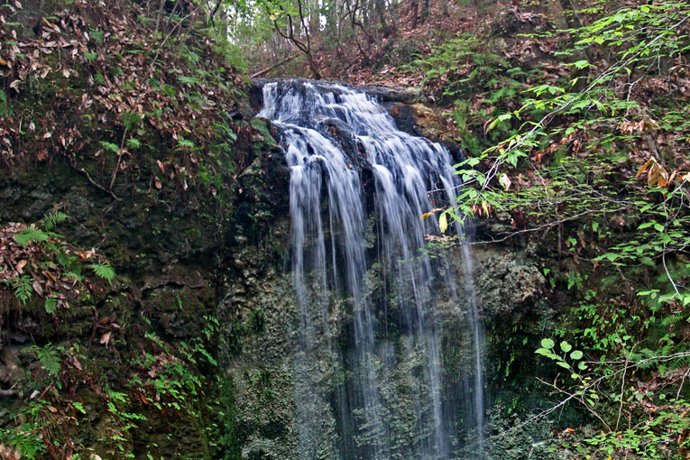 Falling Water's State Park waterfall.