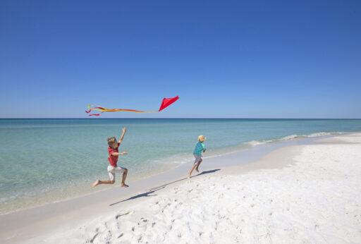 Image of the beach at Grayton Beach.